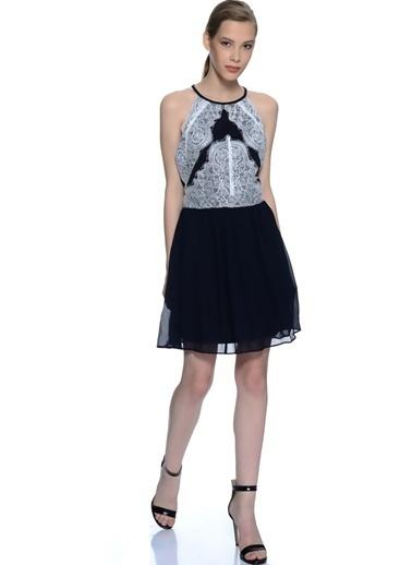 Girl In Mind Mini Abiye Elbise Siyah